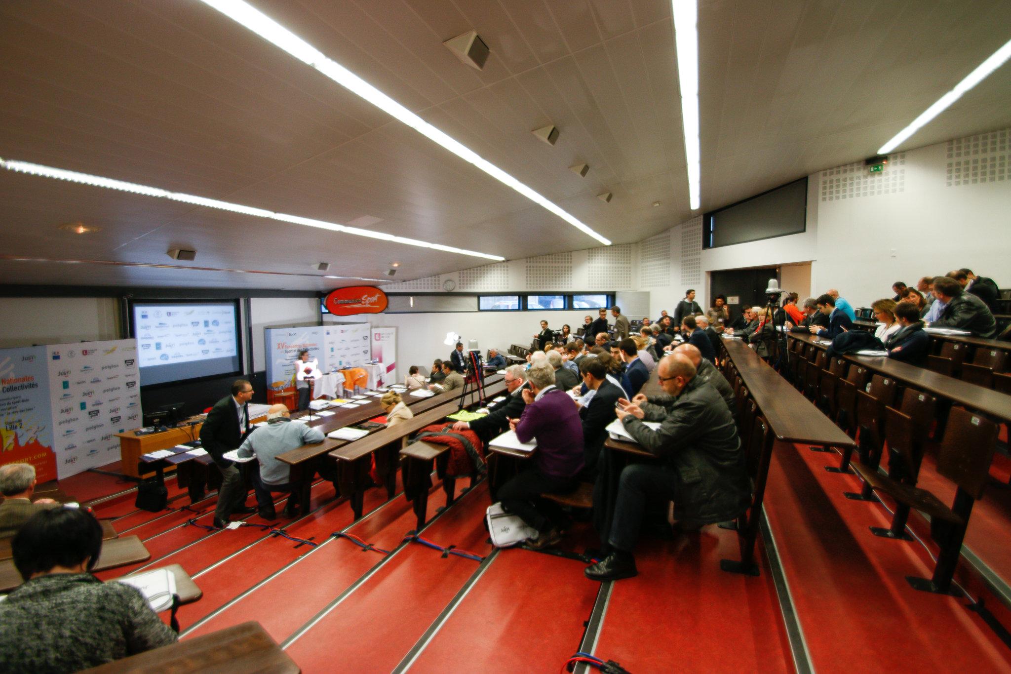 Acteurs et Décideurs du Sport présents à Communica Sport 2015 (Faculté des Sciences et du du Sport de Lille 2)