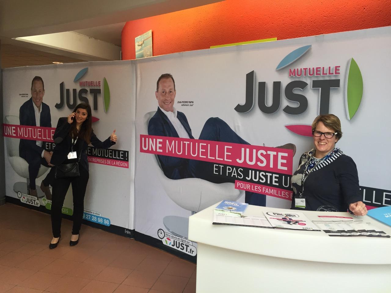 La Mutuelle JUST vous accueille à Communica 2015