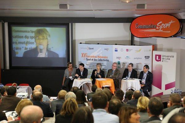 cteurs et Décideurs du Sport présents à Communica Sport 2015 (Faculté des Sciences et du du Sport de Lille 2)
