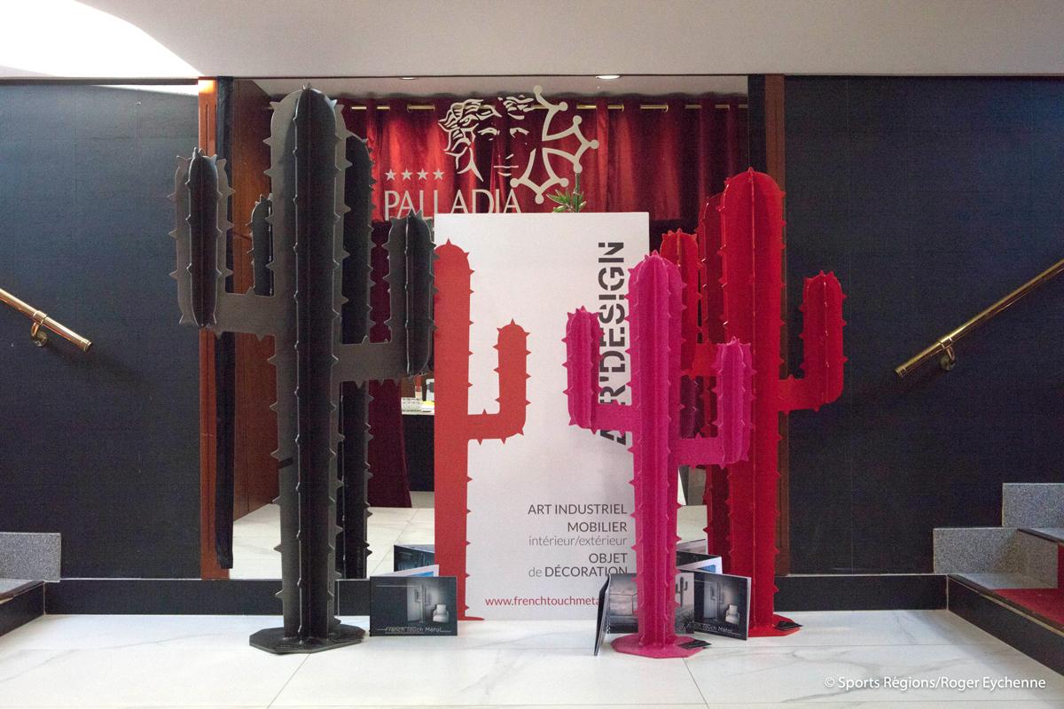 Cactus en métal de French Touch Metal