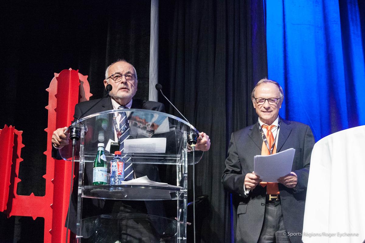 M. Richard Mailhe, président du CROS Languedoc-Roussillon