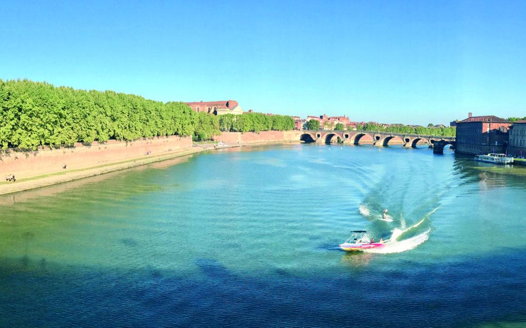 Championnats de France FFSNW de Wakeboard & Wakeskate Bateau 2018 en plein coeur de la ville rose !